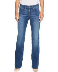NYDJ - Marilyn Straight Jeans In Smart Embrace Denim In Noma - Lyst