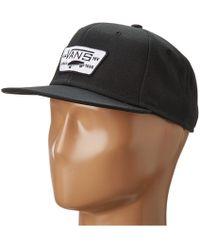 8924b00a2e8 Vans - Full Patch Snapback (heather Grey) Caps - Lyst