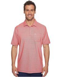 Travis Mathew - Ledger Polo (heather American Beauty) Men's Short Sleeve Knit - Lyst