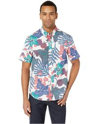 69eaa8c14ed Reyn Spooner - San Clemente Tailored Fit Hawaiian Shirt (coconut Milk)  Men s Short Sleeve