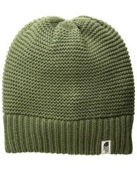 The North Face - Purrl Stitch Beanie (four Leaf Clover) Beanies - Lyst 2617650ffc5f