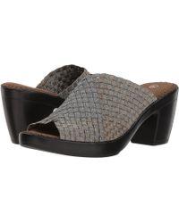 Bernie Mev - Sun Texas (bronze/pewter Combo) Women's 1-2 Inch Heel Shoes - Lyst