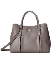 Anne Klein - Soft Folds Satchel (iron Gate) Satchel Handbags - Lyst