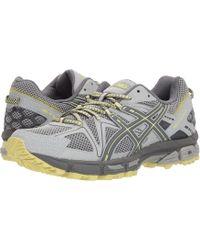 Asics - Gel-kahana(r) 8 (black/ice Green/hot Orange) Women's Running Shoes - Lyst