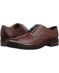 00a2d2556ec6 Bostonian - Maxton Wing (black Leather) Men s Shoes - Lyst
