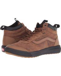 b04e2a1cd5203c Vans - Ultrarange Hi Mte (bress Blues black) Men s Skate Shoes - Lyst