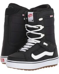 11a3f717af43b5 Vans - Hi-standardtm Og  18 (black white) Women s Snow Shoes