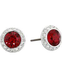 Swarovski - Angelic Pierced Earrings (white) Earring - Lyst