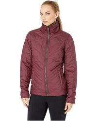 The North Face - Mossbud Insulated Reversible Jacket (tnf Black) Women's Coat - Lyst