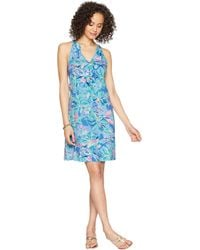 30d203eeef315e Lilly Pulitzer - Shay Dress (bennet Blue Celestial Seas) Women's Dress -  Lyst