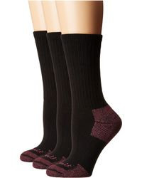 Carhartt - Cotton Crew Work Socks 3-pair Pack (heather Grey) Women's Crew Cut Socks Shoes - Lyst