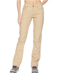 Mountain Khakis - Camber 106 Pants Classic Fit (slate) Women's Casual Pants - Lyst