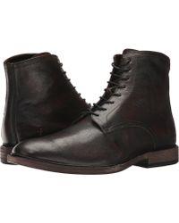Frye - Chris Lace-up (cognac Full Grain Brush-off) Men's Boots - Lyst