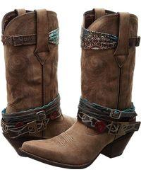 Durango - Crush 12 Accessorize W/ Removable Straps (brown) Cowboy Boots - Lyst