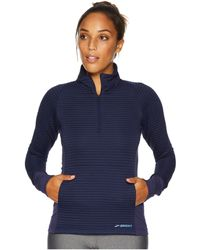 Brooks - Fly-by 1/2 Zip (navy) Women's Long Sleeve Pullover - Lyst