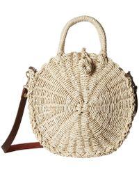 Hat Attack - Mini Cooper Round Bag (natural) Bags - Lyst