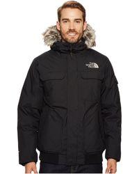 16217149bd The North Face - Gotham Jacket Iii (tnf Black metallic Copper) Men s Coat