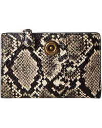 Lauren by Ralph Lauren - Millbrook Crossbody (black natural) Handbags - Lyst 928ad66ecd459
