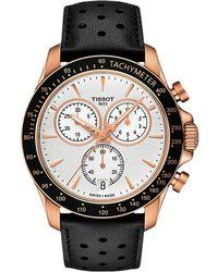 Tissot - V8 Chrono Quartz - T1064173603100 (rose Gold) Watches - Lyst
