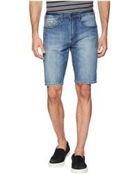 Buffalo David Bitton - Parker-x Slim Fit Shorts (veined And Sanded) Men's Shorts - Lyst