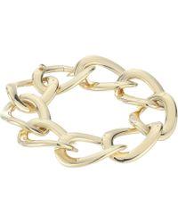 Roberto Coin - 18k Open Curb Link Bracelet (yellow) Bracelet - Lyst