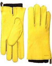 Hestra - Tony (natural Yellow) Dress Gloves - Lyst
