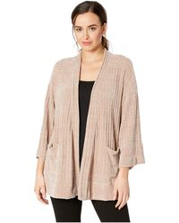 Mod-o-doc - Chenille Rib Kimono Sleeve Cardigan (fawn) Women's Sweater - Lyst