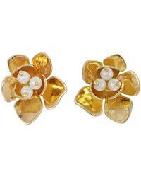 Vince Camuto - Stud Earrings (rose Gold) Earring - Lyst