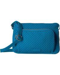 e77158ae03 Vera Bradley - Iconic Rfid Little Hipster (snow Lotus) Handbags - Lyst