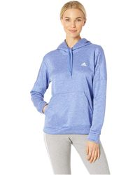 adidas - Team Issue Pullover Hoodie (real Magenta/real Magenta/real Magenta) Women's Sweatshirt - Lyst