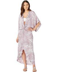 Young Fabulous & Broke - Siren Cover-up Dress (lavender Microwash) Women's Swimwear - Lyst