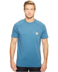 Carhartt - Force® Cotton Delmont Short-sleeve T-shirt - Lyst