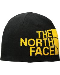 The North Face - Reversible Banner Beanie (turkish Sea/urban Navy) Beanies - Lyst