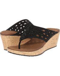 813eb0cad4b Skechers - Cali - Beverlee - Dazzled (black) Women s Sandals - Lyst
