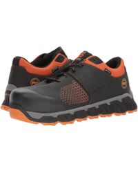 Timberland - Ridgework Composite Safety Toe Waterproof Low (black) Men's Work Lace-up Boots - Lyst