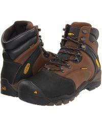 "Keen Utility - Louisville 6"" Waterproof Met Steel Toe Work Boot - Lyst"