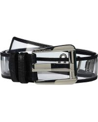 4bbda868e63fa MICHAEL Michael Kors - 42 Mm Vinyl Belt (black) Women s Belts - Lyst