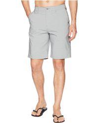 Quiksilver - Union Stripe 21 Amphibian Shorts (black) Men's Shorts - Lyst