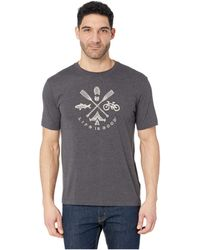 1745f0d0b Lyst - Hanes Graphic T-shirt - Rugged Outdoor Collection in Black ...