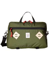 Topo Designs - Mountain Briefcase (charcoal) Briefcase Bags - Lyst
