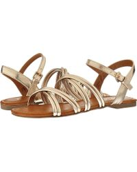 Report - Gal (gold) Women's Shoes - Lyst