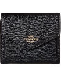 COACH - Crossgrain Leather Small Wallet - Lyst