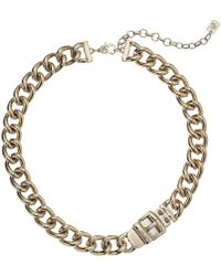 Lauren by Ralph Lauren - Buckle Collar (gold) Necklace - Lyst