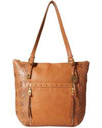 The Sak - Ojai Tote Collective (tobacco Souk Emboss) Tote Handbags - Lyst