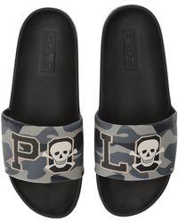 40d08970ea19 Lyst - Polo Ralph Lauren Us Open Cayson Slide Sandal for Men