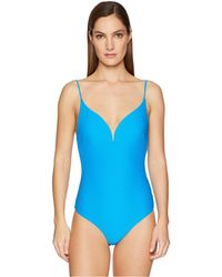 3b9f09bf4a Onia - Gloria One-piece (white 1) Women's Swimsuits One Piece - Lyst