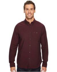 Fjallraven - Ovik Foxford Shirt (dark Garnet) Men's Clothing - Lyst