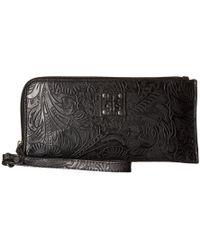 STS Ranchwear - The Floral Clutch (black) Clutch Handbags - Lyst