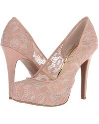 7220332b362 Jessica Simpson - Parisah 3 (black Lovely Lace) Women s Shoes - Lyst