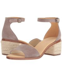 Soludos - Capri Suede Heel (ash) Women's Shoes - Lyst